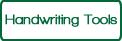 Handwriting Tools - green on white